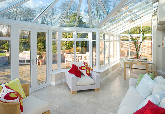 Conservatories Glass Extensions